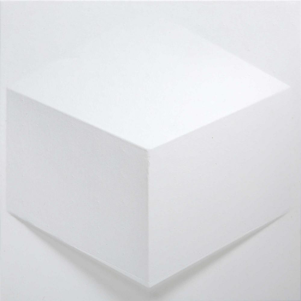 Mio Cube White Geometric Strippable Wallpaper Cub 02 The