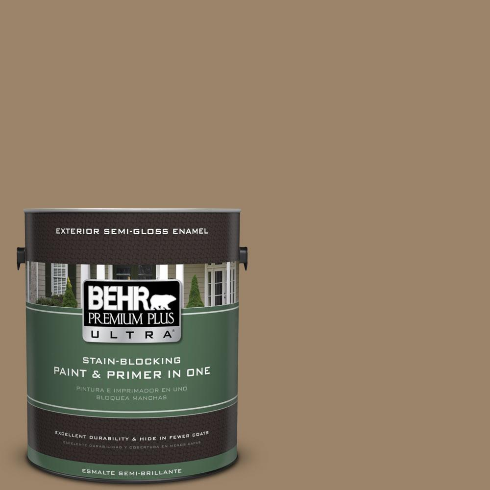 1-gal. #PPU7-4 Collectible Semi-Gloss Enamel Exterior Paint