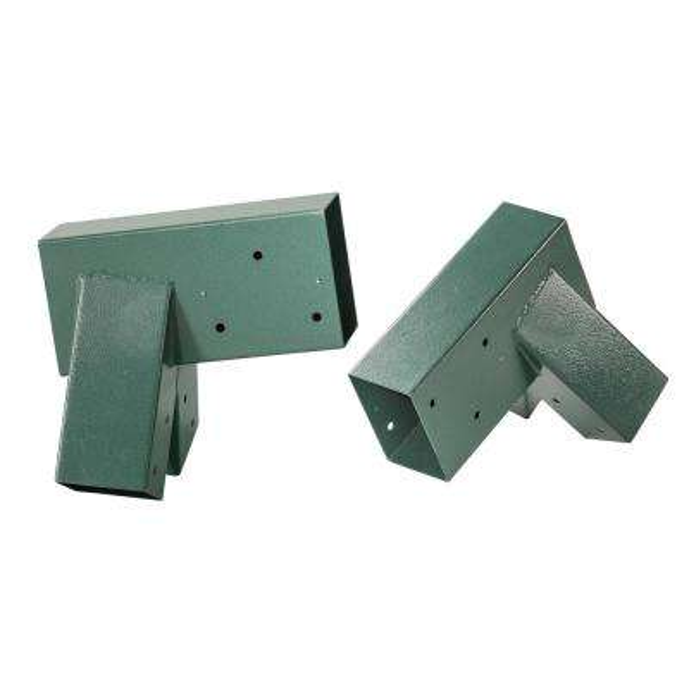 A-Frame Bracket - Green Powder Coating - Set Of 2