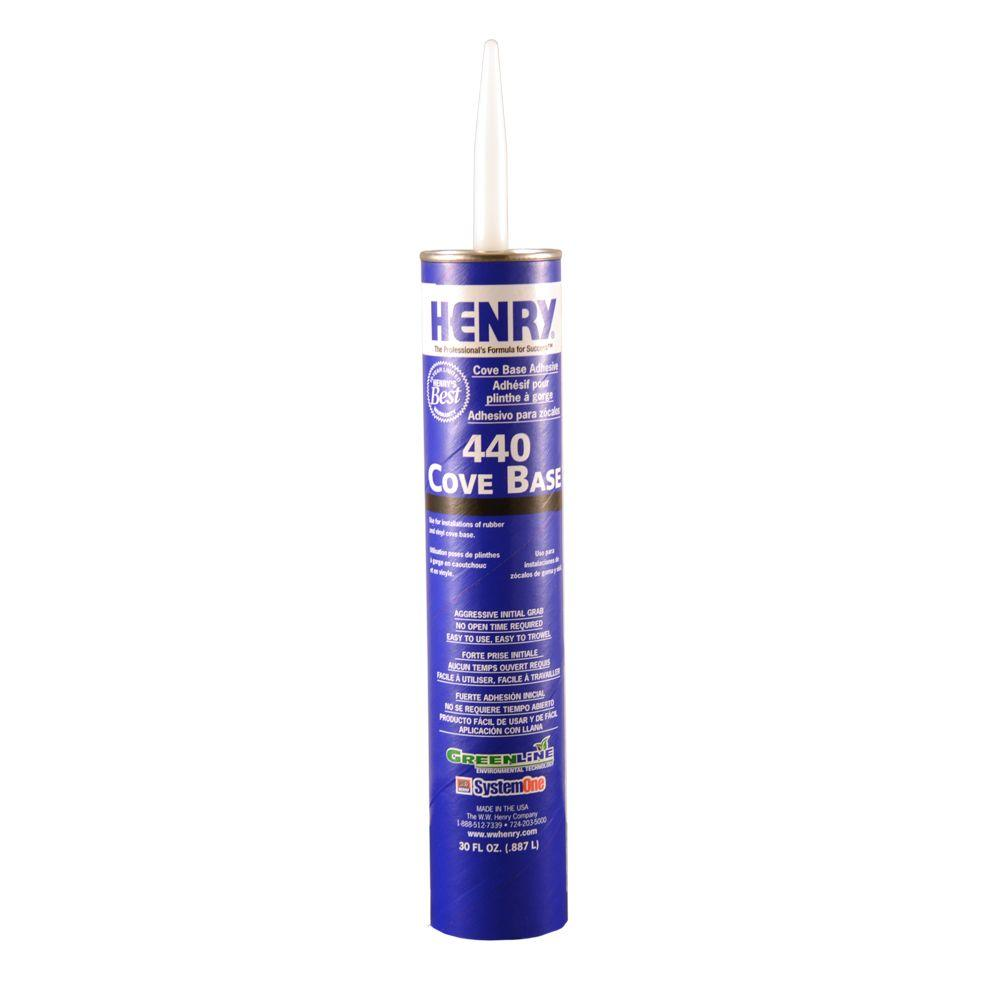 Henry 440 30 oz. Cove Base Adhesive