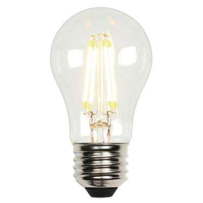 40W Equivalent Soft White A15 Dimmable Filament LED Light Bulb