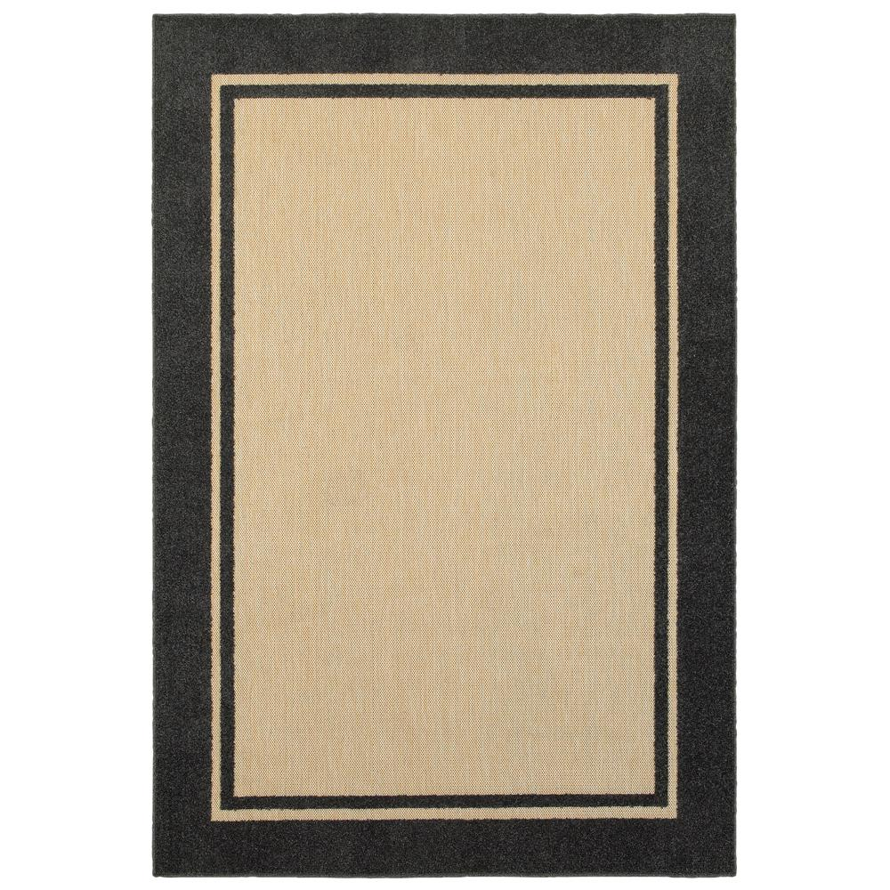 Home Decorators Collection Bondi Charcoal 5 Ft 3 In X 7