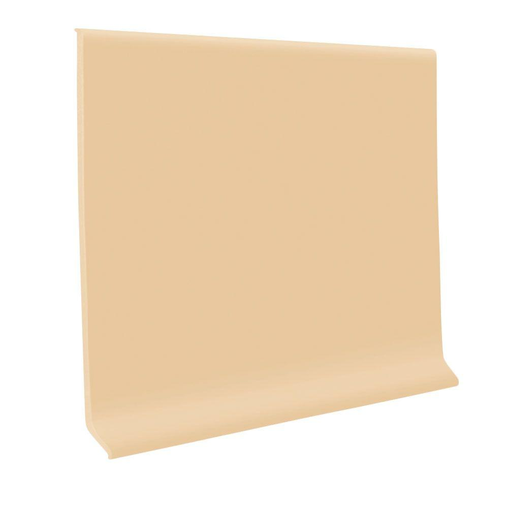 ROPPE 700 Series Camel 4 in. x 1/8 in. x 48 in. Thermoplastic Rubber Wall Cove Base (30-Pieces)