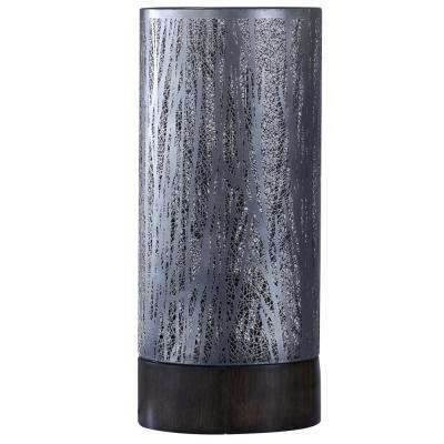 24 in. Black Nickel Table Lamp with Shade