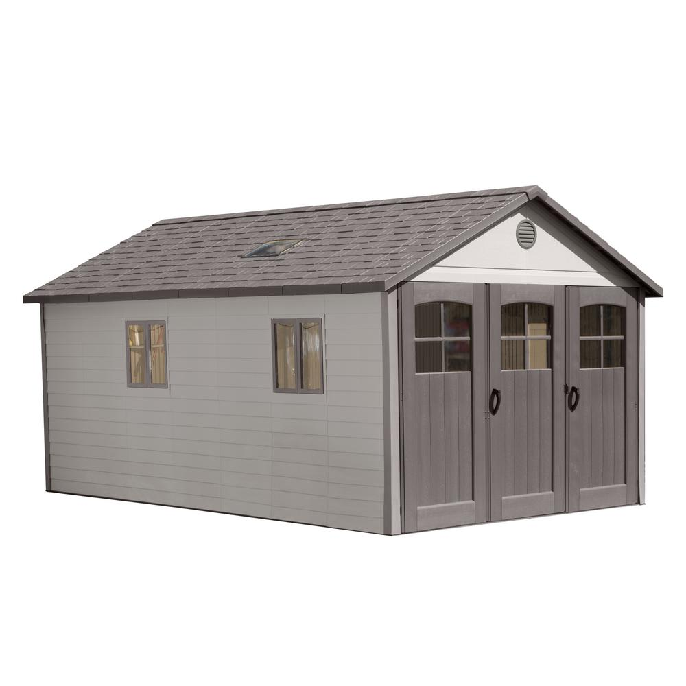 Lifetime 11 Ft. X 18.5 Ft. Storage Shed With 9 Ft. Wide