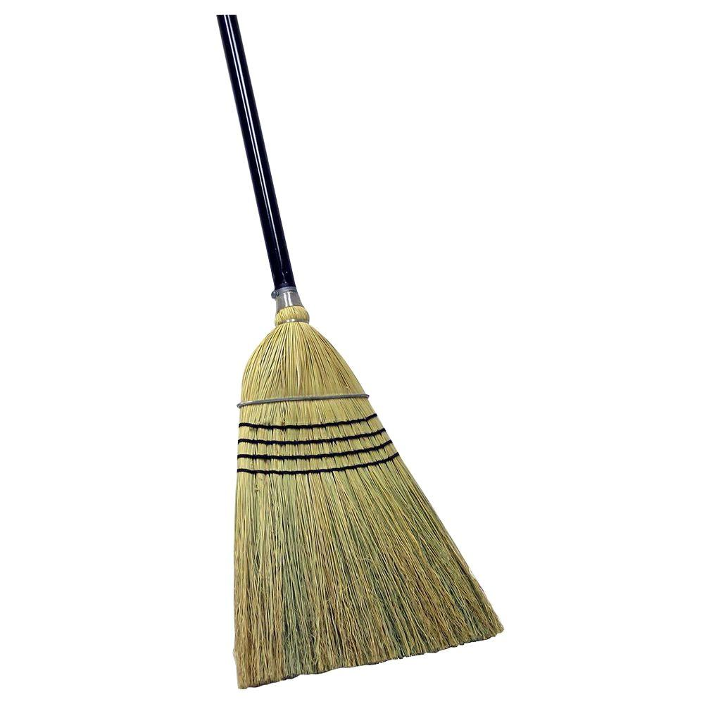 Quickie Heavy Duty Corn Broom 931 1 The Home Depot