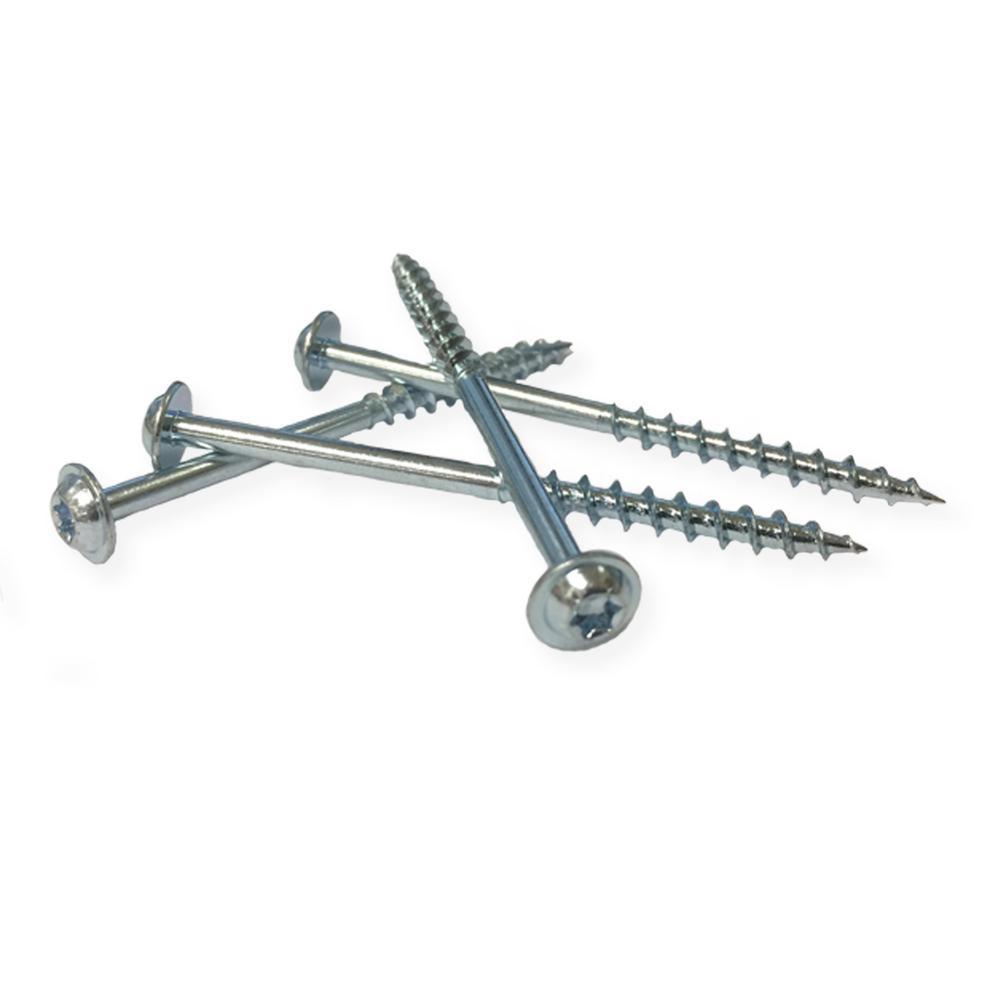 T20 Star coarse Includes 100 Milescraft 52020003 1.25 Pocket Screws washer head screws Inc.