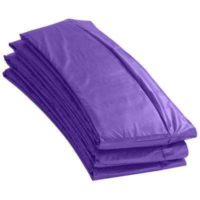 8 ft. Purple Super Trampoline Replacement Safety Pad