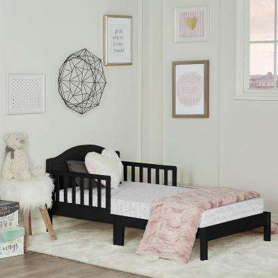 Sydney Black Toddler Adjustable Toddler Bed
