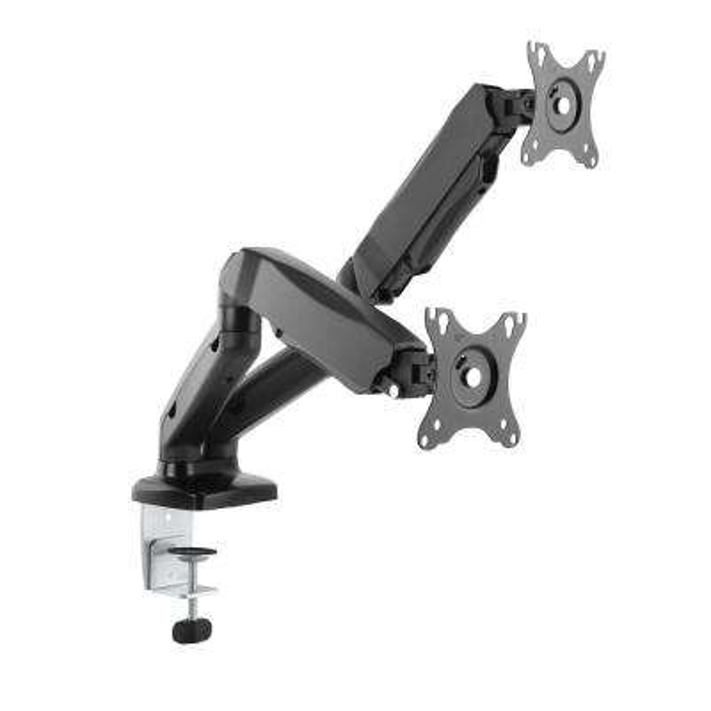 13 in.- 27 in. Interactive Counterbalance Dual Arm LCD VESA Desk Mount