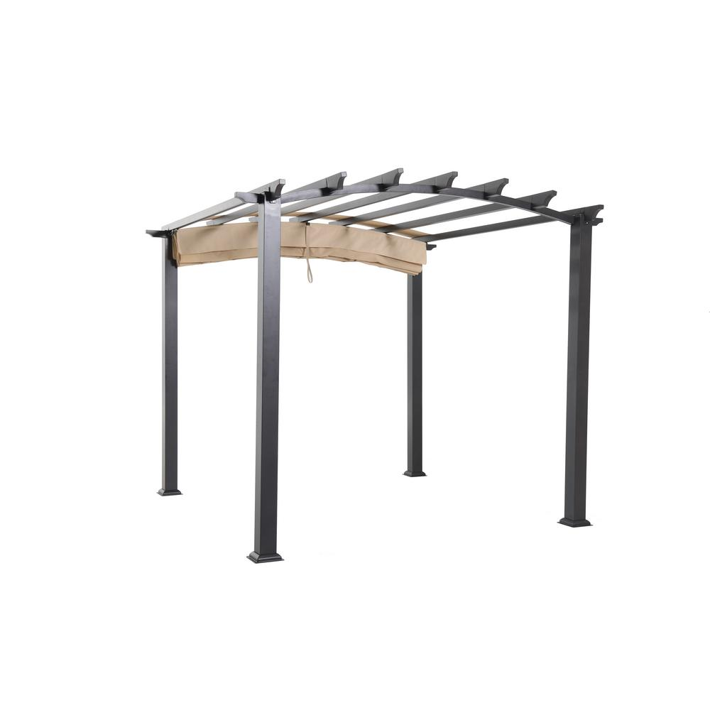 Hampton Bay Arched Pergola Replacement Canopy