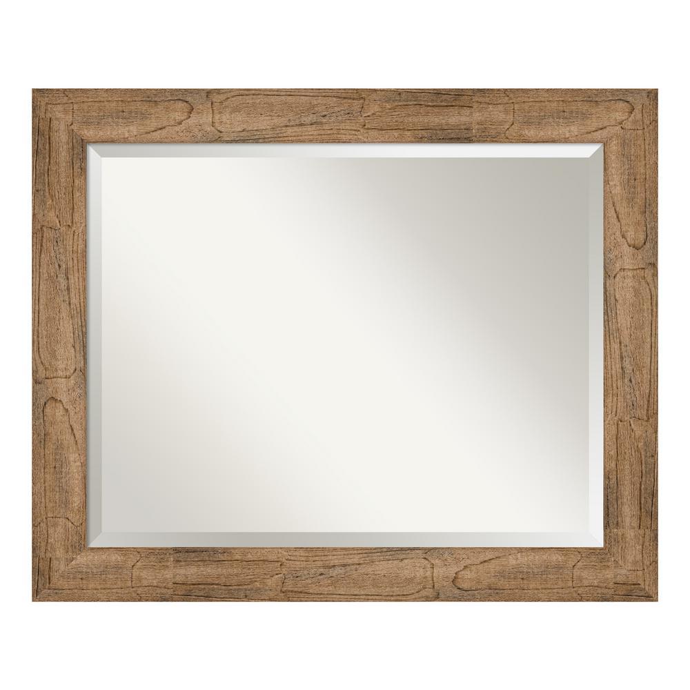 Owl Brown Decorative Wall Mirror