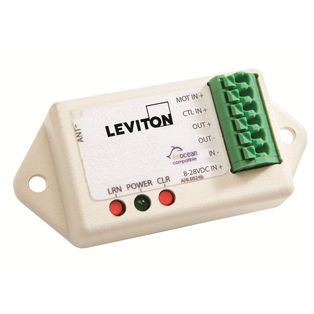 Leviton LevNet RF Enabled by EnOcean LED Dimmer without Wireless Capability - White-DISCONTINUED
