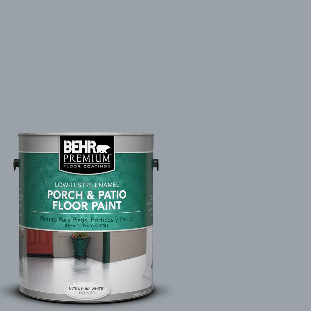 1 gal. #PFC-57 Silver Spur Low-Lustre Porch and Patio Floor Paint