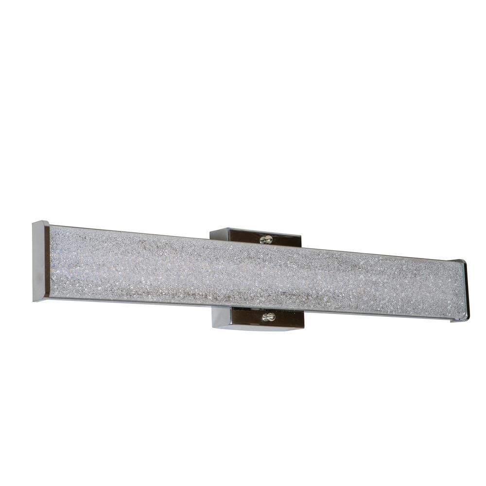 24 in. Sugar Sand Chrome LED Vanity Light Bar