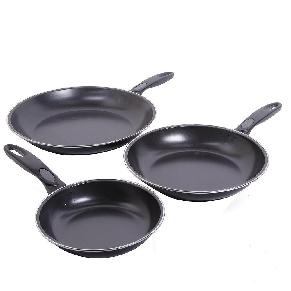 Aventura 3-Piece Frying Pan Set