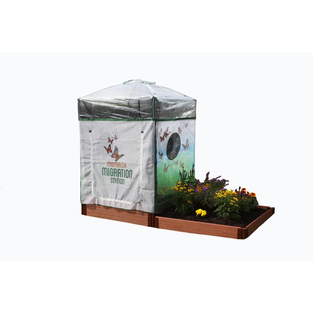 Monarch Migration Station 4 ft. x 4 ft. Family Step Garden