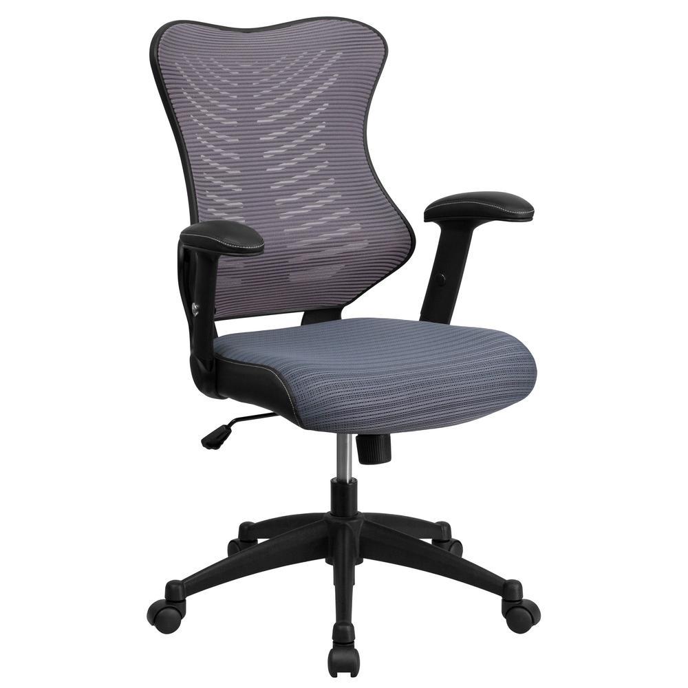 Boss Office Black Mesh Task Chair B6456 Bk The Home Depot