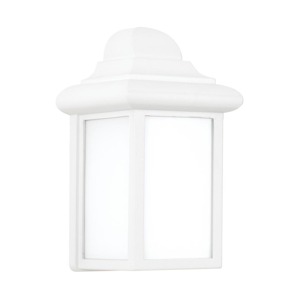 Sea gull lighting mullberry hill white outdoor integrated for Mullberry home