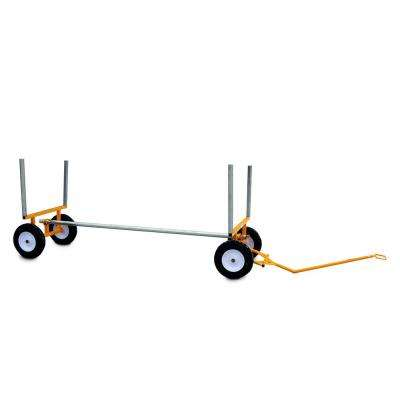 2,000 lbs. Capacity All-Terrain Lumber and Pipe Cart