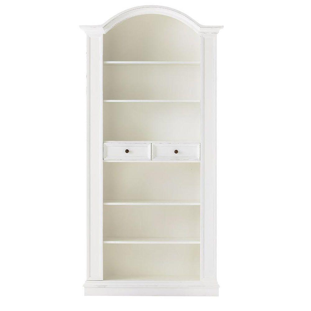 Home Decorators Collection Christina Gustaviano Wash 6-Shelves Open Bookcase