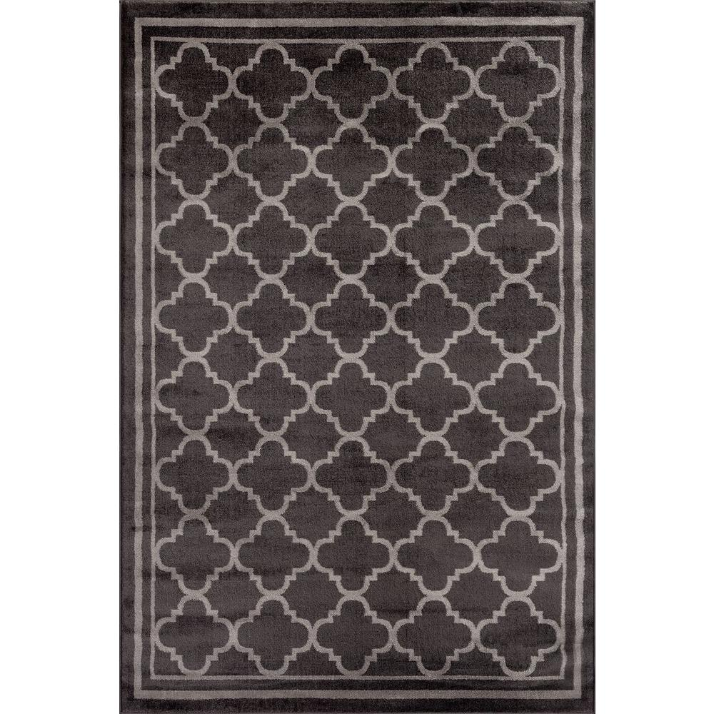 This Review Is From Trellis Contemporary Modern Design Dark Gray 3 Ft In X 5 Indoor Area Rug