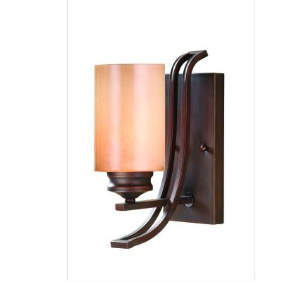 Hidalgo Collection 1 Light Sovereign Bronze Sconce