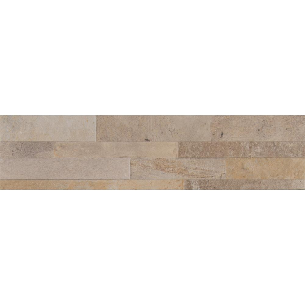 Canyon Cream Ledger Panel 6 in. x 24 in. Glazed Porcelain