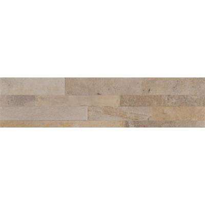 Canyon Cream Ledger Panel 6 in. x 24 in. Glazed Porcelain Floor and Wall Tile (11 sq. ft. / case)