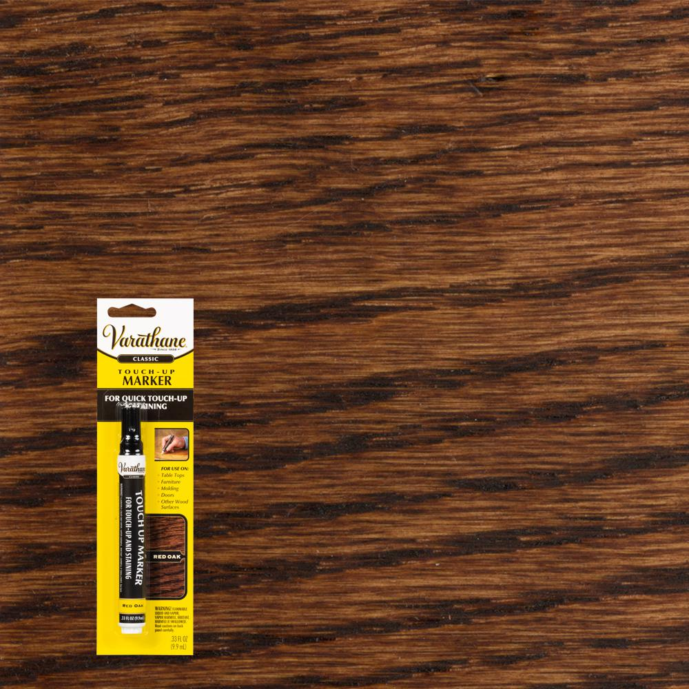Red Oak Wood Stain Touch Up Marker 8 Pack