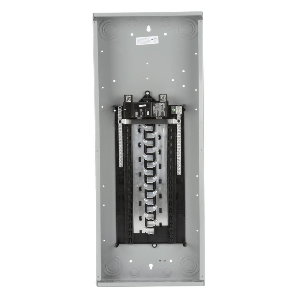 ES Series 200 Amp 30-Space 40-Circuit Main Breaker Indoor Load Center