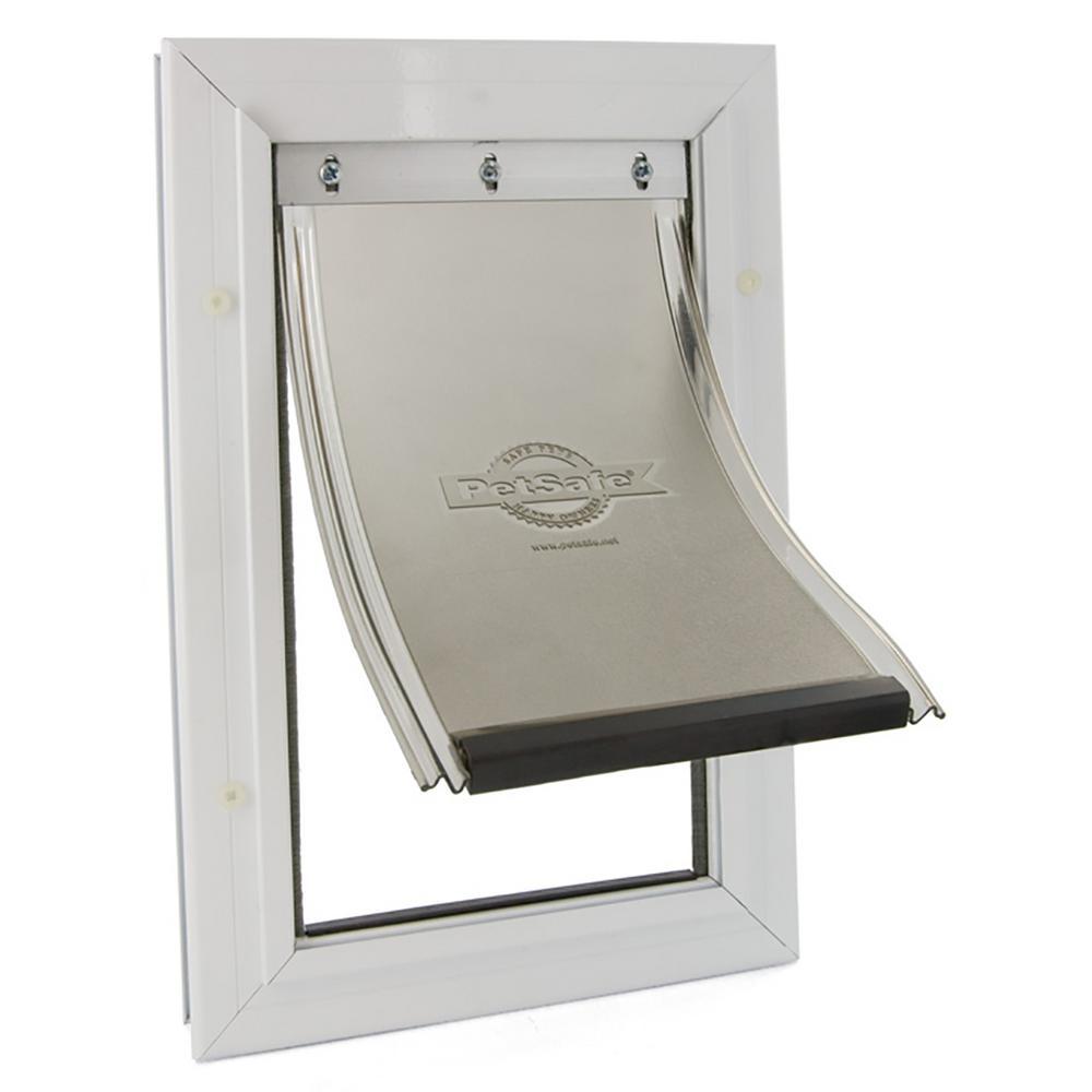8-1/4 in. x 12-1/4 in. Medium Freedom Aluminum Pet Door