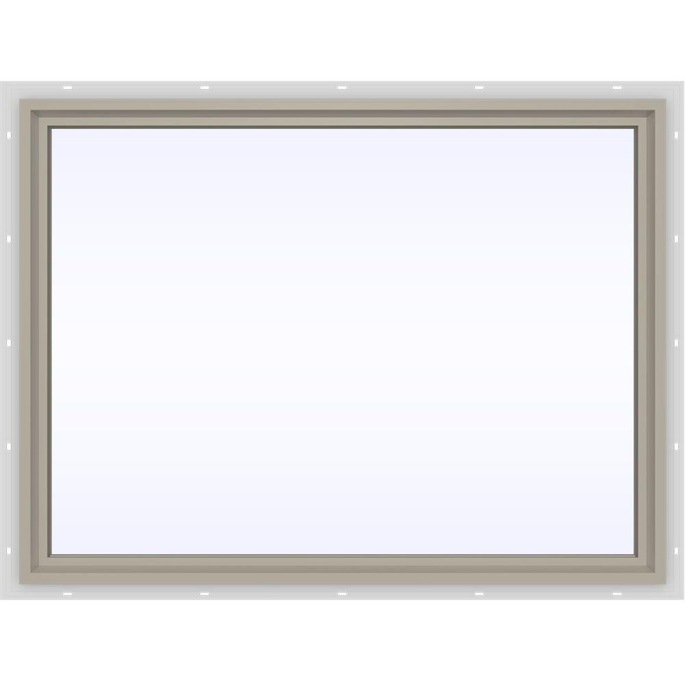 Jeld-Wen 47.5 in. x 35.5 in. V-4500 Series Fixed Picture ...