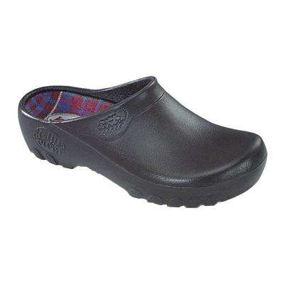 Men's Brown Garden Clogs - Size 8