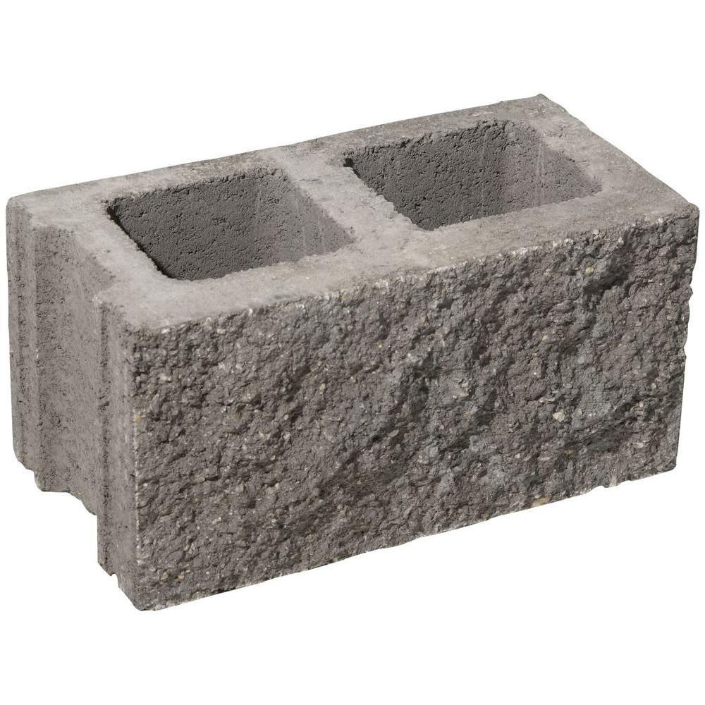 16 In X 8 In X 8 In Concrete Block 32311352 The Home