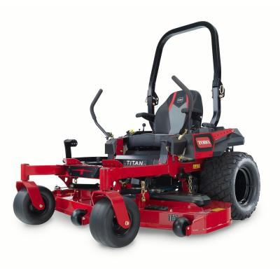 Titan MAX 60 in. IronForged Deck 26 HP Commercial V-Twin Gas Dual Hydrostatic Zero Turn Riding Mower