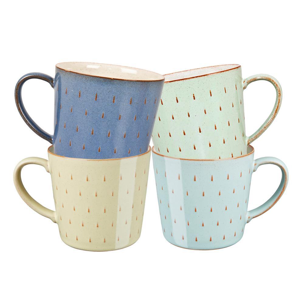 Denby Heritage Assorted Cascade Mugs (Set of 4)  sc 1 st  The Home Depot & Denby Heritage Assorted Cascade Mugs (Set of 4)-CMG-HER/4 - The Home ...