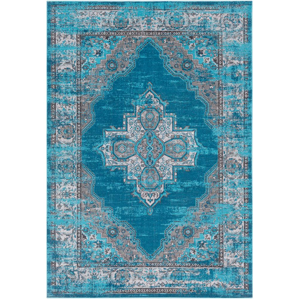 Artistic Weavers Arboleas Teal 5 ft. x 8 ft. Area Rug-S00151070648 ...