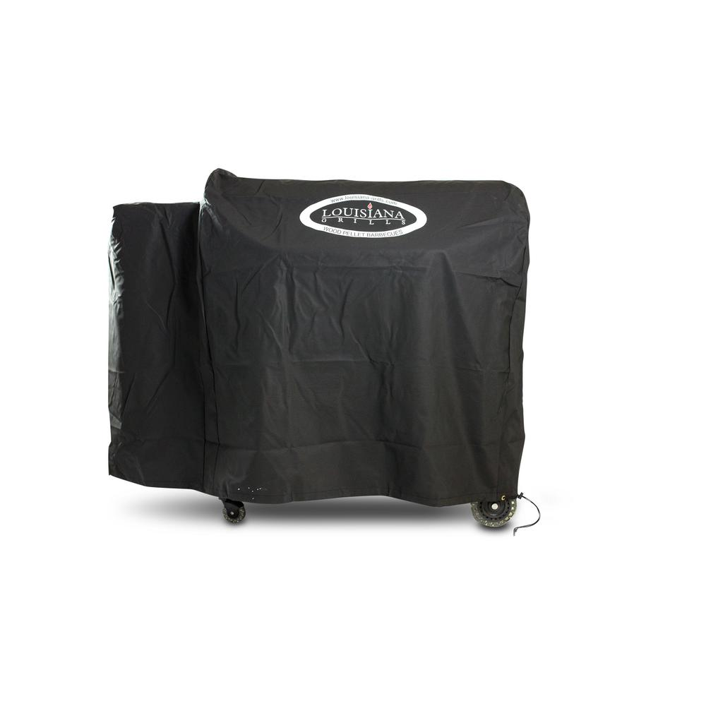 Louisiana Grills LG900 Grill Cover with Logo, Black