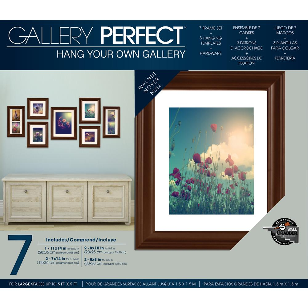Pinnacle 7-Opening 4 in. x 6 in. Matted Picture Frame-11FW795E - The ...