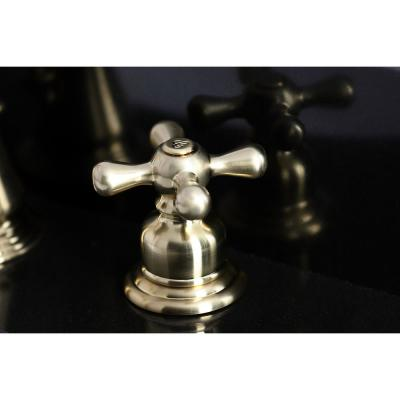 American Classic 8 in. Widespread 2-Handle Bathroom Faucet in Brushed Brass
