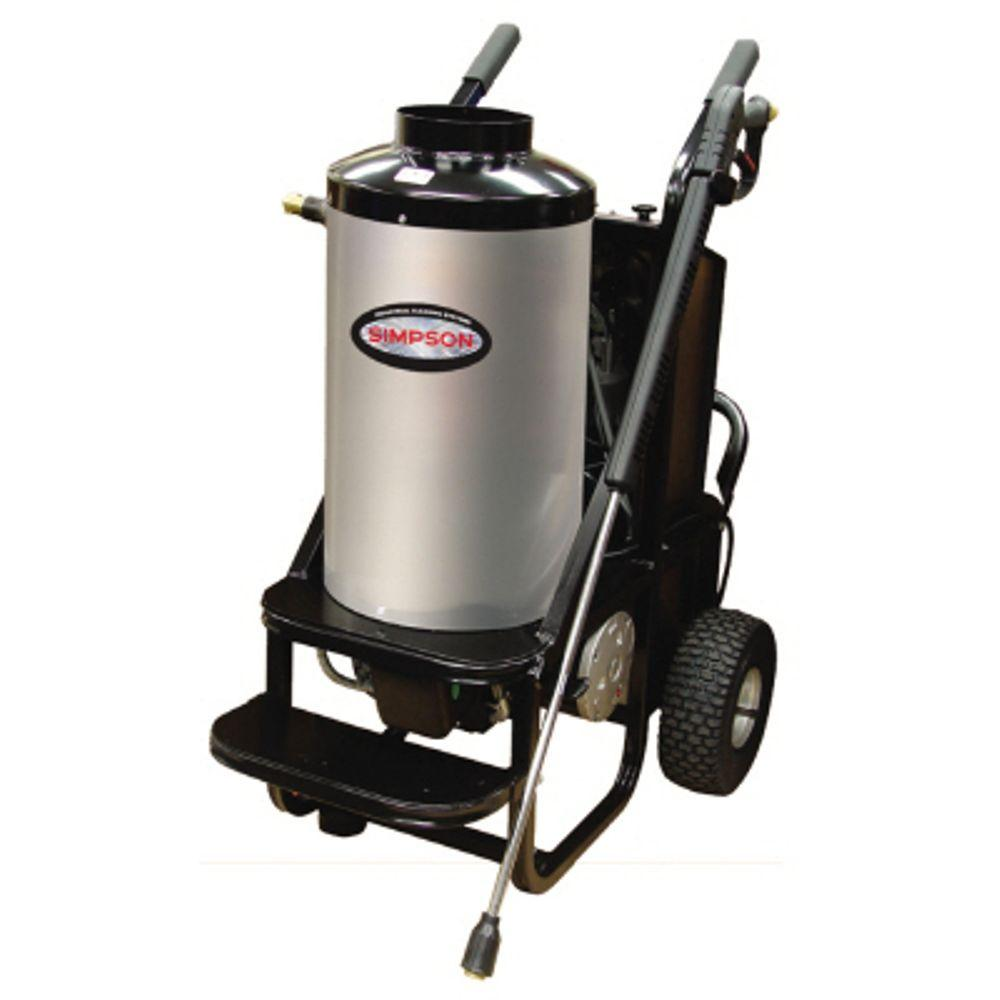 Simpson Mini Brute 1500 PSI 1.8 GPM Hot Water Electric Pr...