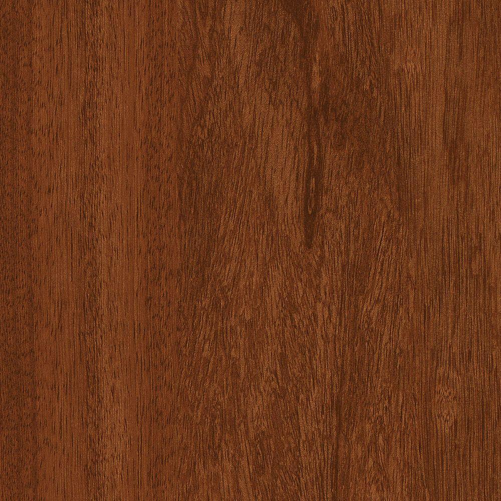 Take Home Sample - Sapelli Red Luxury Vinyl Plank Flooring - 4 in. x 4 in.