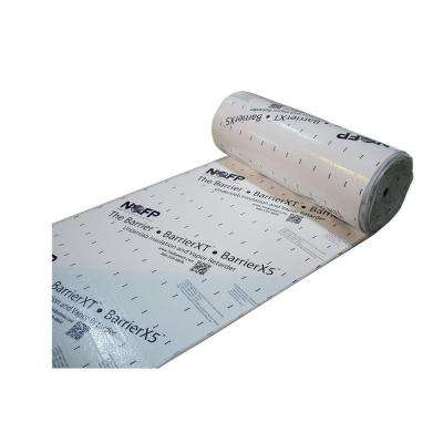 4 ft. x 64 ft. BarrierX5 1-1/4 in. Thick EPS Foam Insulation with Vapor Retarder (Case of 2)