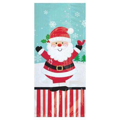 Christmas Jolly Santa Cello Large