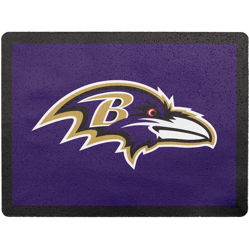 NFL Baltimore Ravens Address Logo Graphic
