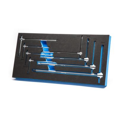 Metric Sliding T-Handle Hex Wrench Set with Mechanic's Tray (8-Piece)
