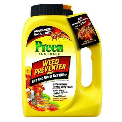 4.25 lbs. Southern Weed Preventer Plus Fire Ant Flea and Tick Killer
