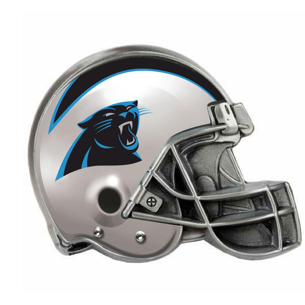 100% authentic 1a015 d4801 Great American Products Carolina Panthers Helmet Hitch Cover