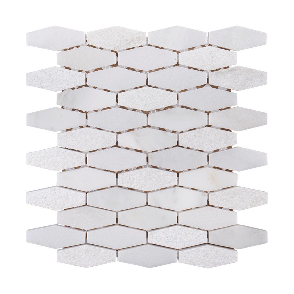 Nimbus 10-1/4 in. x 11-1/2 in. x 10 mm Marble Stone